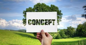 concept green technology
